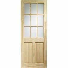 Half French Pine Door