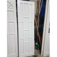 "Pine Door White  Carved 24""x80"""