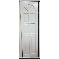 """Pine Door White 24""""x80"""" Cathedral no glass"""