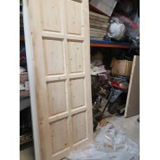 """Pine Door 30""""x80"""" 8 Panel"""