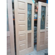"Door Cherry Wood A08 Decorative/Panel/Louvre 36""x80"""