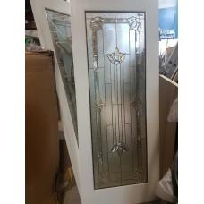 """Door Cherry Wood Full French White 30""""x80"""" SX752309"""