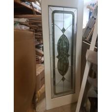 """Door Cherry Wood White Full French Decorative Lolita 30""""x80"""