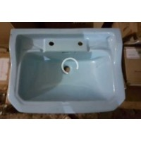 "Basin Wall Hung Blue 20"" W x 16"" D"