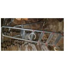 Ladder 4 step Aluminum