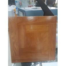 """Ceramic Floor Tile 12""""x12"""" Bordered Parquet"""
