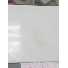 "Ceramic Wall Tile 6""x6"" White Splash"