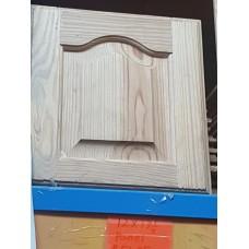 """Cupboard Door 12"""" W x 13-1/4"""" H Pine Panel"""