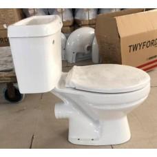 Toilet English P Trap White Diana
