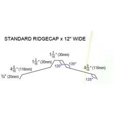 "Ridge Cap 12 """