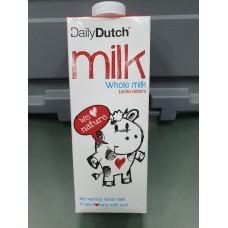 Daily Dutch 100% Whole Milk 1 Litre