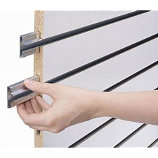 Slatwall with Metal Inserts