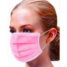 Masks Adults 3ply Pink 1 pc