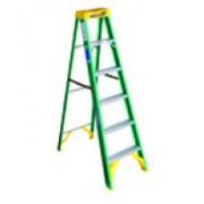 Ladder 6 ft Step Fibreglass Werner