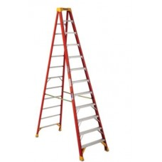 Ladder 12 ft Step Fibreglass Werner