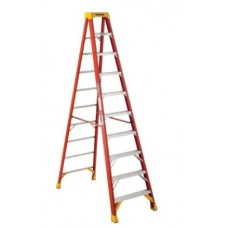 Ladder 10 ft Step Fibreglass Werner