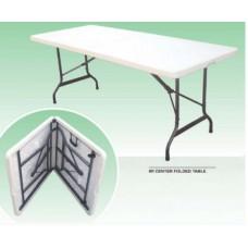 Table 6ft Folding Fold in Half