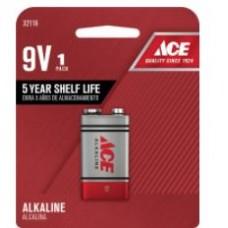 Battery ACE Alkaline 9V 1pk