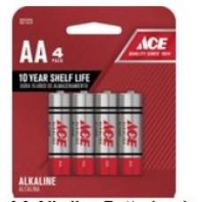 Battery Ace Alkaline AA 4pk