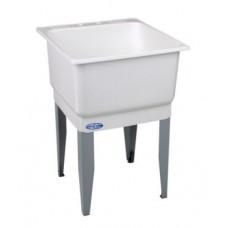 Laundry Tub Utilatub 23 in. W x 25 in. D Single Polypropylene