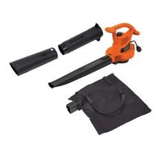 BLACK & DECKER 3-in-1 Electric Leaf Blower, Leaf Vacuum, Mulcher, 12-Amp