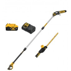 DCKO86M1 20V MAX* CORDLESS POLE SAW AND POLE HEDGE TRIMMER COMBO KIT