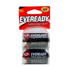 Battery Eveready Super Heavy Duty D 2 pk