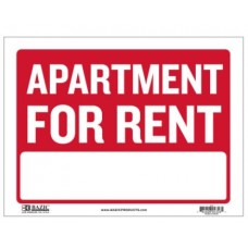 Sign Apartment for Rent 12x16