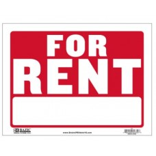 Sign For Rent 12x16