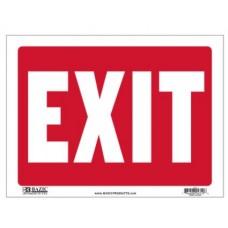 Sign Exit 9x12