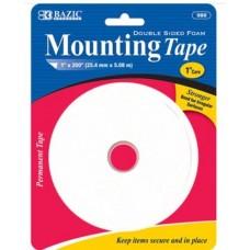 "Bazic Mounting Tape 1x200"""