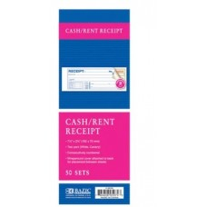 Bazic Carbonless Receipt Book 1pk