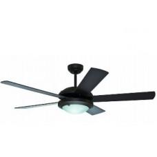 Fan Hunter Solaris 52 in. Indoor Bronze Ceiling Fan with Light Kit