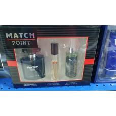 Cologne Match Point for Men Set