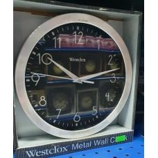 Westclox Metal Wall Clock