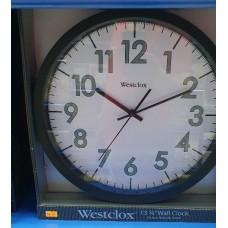 """Westclox Wall Clock 13-3/4"""""""