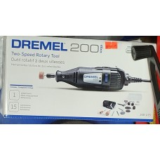 Dremel 200 Variable Speed Rotary Tool with 15 Accessories