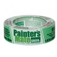 Tape Masking 1.41 in. W x 60 yd. L Green Medium Strength Masking Tape 1 pk