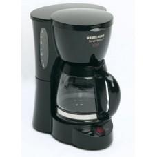 Black & Decker DCM500B SmartBrew 5-Cup Coffeemaker, Black