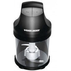 Black & Decker 3-Cup Ergo Chopper, Black