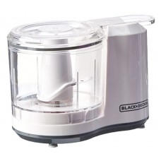 BLACK & DECKER 1.5-Cup Electric Food Chopper, Improved Assembly, White, HC150BW
