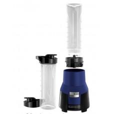 BLACK & DECKER PB1002N FusionBlade Personal Blender with 20 Ounce Portable Personal Blending Jars(2-Pack with Travel Lids), Blue Single Serve Blender