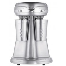 Hamilton Beach Eclectrics All-Metal Double-Spindle Retro Drink Mixer, Sterling