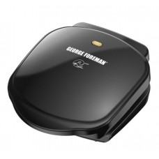George Foreman 2-Serving Classic Plate Electric Indoor Grill and Panini Press, GR10B