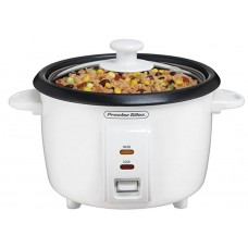 Proctor Silex 4-Cups uncooked resulting in 8-Cups Cooked Rice Cooker, White (37534Y)