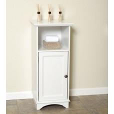 Zenith collette floor cabinet White
