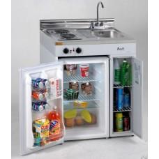 Avanti Compact Kitchen with Refrigerator