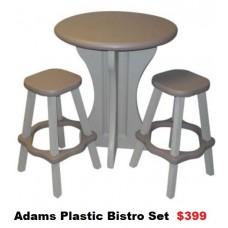 Adams Bistro/ Bar Stool Set