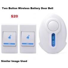 Door Bell Wireless 2 Button